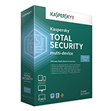 Kaspersky Total Security 2016 1 Year - Installed