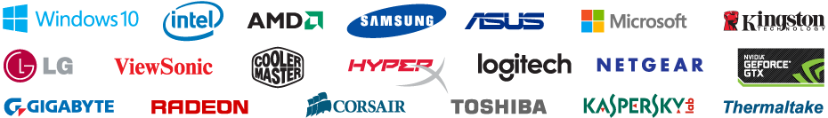 We use the best brands for our desktop computers