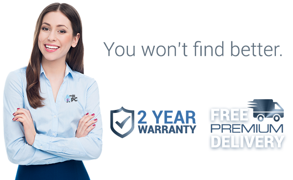 Free Premium Delivery and A 2-Year Warranty