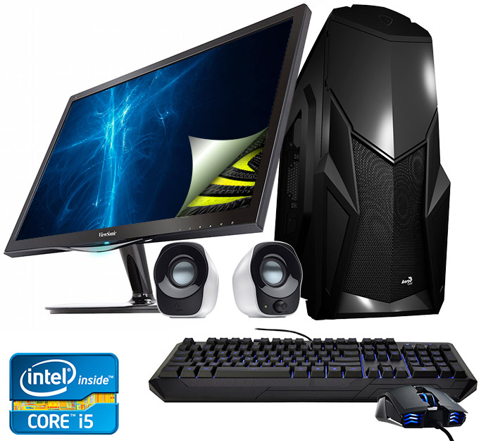 Stealth II desktop PC gaming package