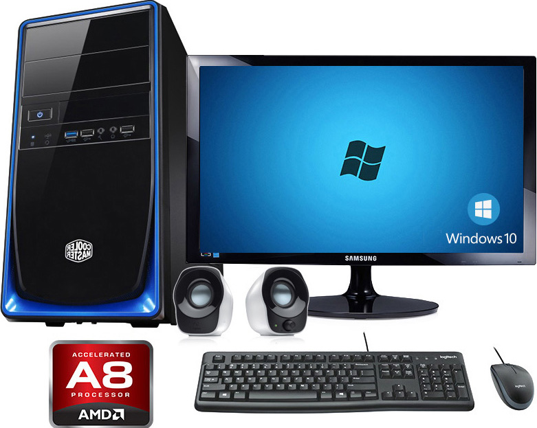 Workstation Pro Desktop PC Package